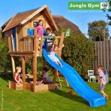 Детский игровой комплекс Jungle Gym Crazy Playhouse CXL