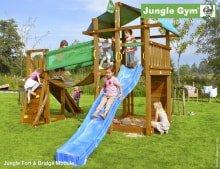 Детский игровой комплекс Jungle Gym Fort + Bridge Module