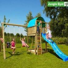 Детский городок Jungle Gym Villa и Swing Module