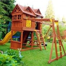 Детский игровой комплекс PlayNation Новый Рассвет и рукоход