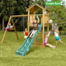 Игровой комплекс Jungle Gym Cottage и Swing Module