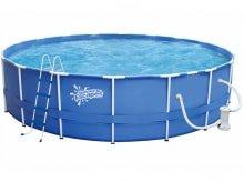Металлический каркасный бассейн размер 457*132