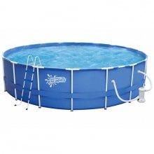 Металлический каркасный бассейн размер 548*122