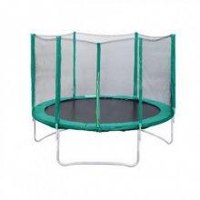 "Батут с защитной сеткой ""Trampoline 12"" диаметр 3.7 м"