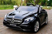 Детский электромобиль Mercedes S63 AMG Лицензия