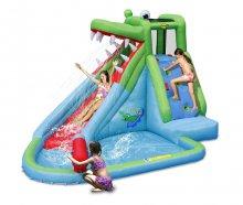 Надувная водная горка Крокодильчик Happy Hop 9240