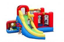 Надувной батут Игровой центр 11 в 1 Happy Hop 9406