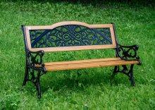 Чугунная скамейка Арабеска