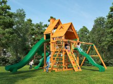 Деревянная детская площадка для дачи Igragrad Великан 3  (Дерево)