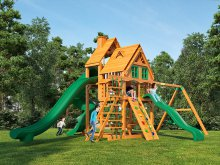 Деревянная детская площадка для дачи Igragrad Великан 3 (Домик)