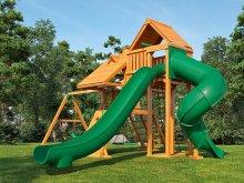 Деревянная детская площадка для дачи Igragrad Крепость Фани Deluxe 3
