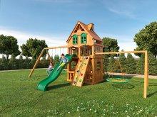 Деревянная детская площадка для дачи  Igragrad Шато Deluxe