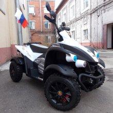 Детский квадроцикл Yamaha Raptor Rus