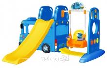 Игровой комплекс Ya Ya Toy автобус ТАЙО с качелями