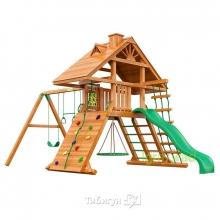 Деревянная детская площадка для дачи Igragrad Крепость Фани (Дерево)