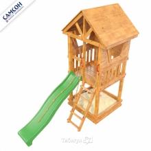 Игровая деревянная площадка Сибирика Башня
