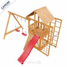 Игровая деревянная площадка Сибирика Спорт