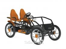 Веломобиль GranTour F Race 2-seater