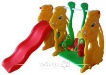 Детская пластиковая горка Vasia VS706