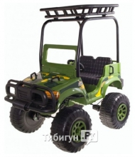 Детский электромобиль Chien Ti CT 888 Backyard Safari 4х4 (полноприводный)