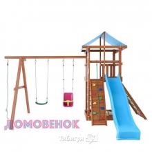 Детский игровой комплекс для дачи Домовенок