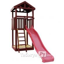 Деревянная детская площадка для дачи Igragrad Панда Фани Tower