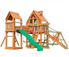 Деревянная детская площадка для дачи Igragrad Моряк (Домик)