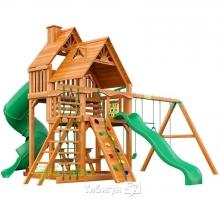 Деревянная детская площадка для дачи Igragrad Великан 2 (Дерево)