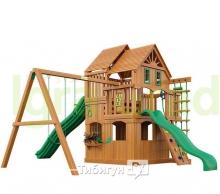 Деревянная детская площадка для дачи Igragrad Великан 2  (Домик)