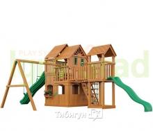 Деревянная детская площадка для дачи  Igragrad Великан 2 (Макси)