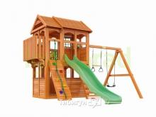 Деревянная детская площадка для дачи Igragrad Клубный Домик 3