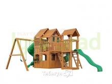 Деревянная детская площадка для дачи  Igragrad Великан 3 Макси (Домик)