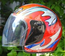 Детский шлем с визором Tibigun TG-03