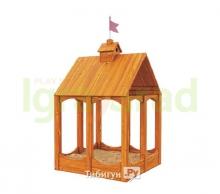 Детская игровая песочница Замок
