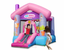 """Надувной батут """"Забавный дом для принцессы"""" Happy Hop 9215"""