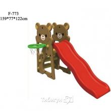 "Детская горка ""Медвежата"" F-773"