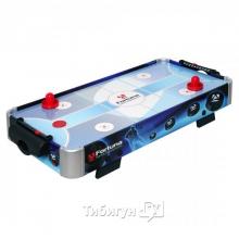 Настольный аэрохоккей «Blue Ice Hybrid» (86 см х 43 см х 15 см)