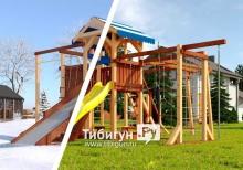 """Игровая площадка Савушка семейная """"4 сезона"""" - 10"""