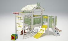 """Игровой комплекс - кровать """"Савушка Baby - 7"""""""