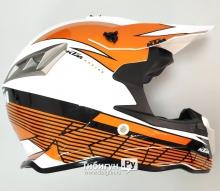 Детский шлем кроссовый Avantis KTM