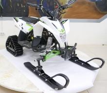 Детский снегоход Motax Gekkon Snow 70cc (Снегоцикл) 1+1