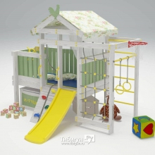 Игровой комплекс кровать Савушка Baby 3