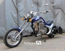 Электромотоцикл GreenCamel Chopper C200, 72V 3000W R15
