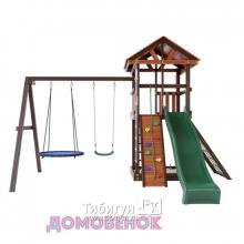 Детский игровой комплекс для дачи Домовенок Макси