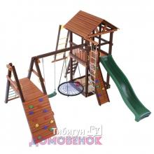 Детский игровой комплекс для дачи Домовенок Делюкс
