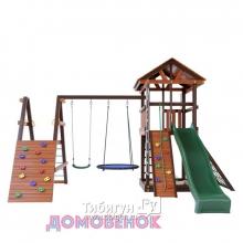 Детский игровой комплекс для дачи Домовенок Макси 2А