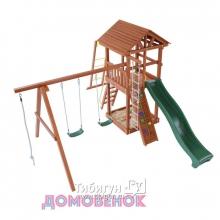 Детский игровой комплекс для дачи Домовенок Спорт