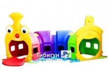 Детский лаз FAMILY Паровозик F-729