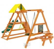Деревянная детская площадка для дачи IgraGrad Старт 3