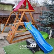 Деревянная детская площадка для дачи IgraGrad Старт 2
